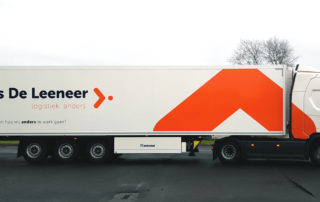 camion belettering