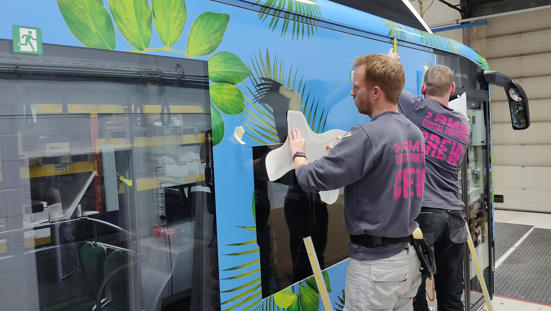 lijnbus bestickering