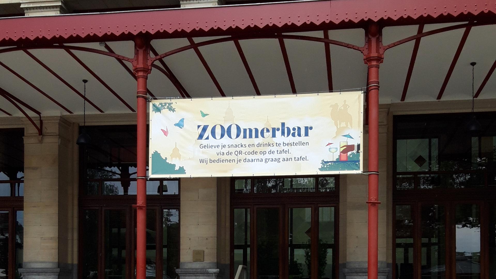Spandoek Zoo Antwerpen