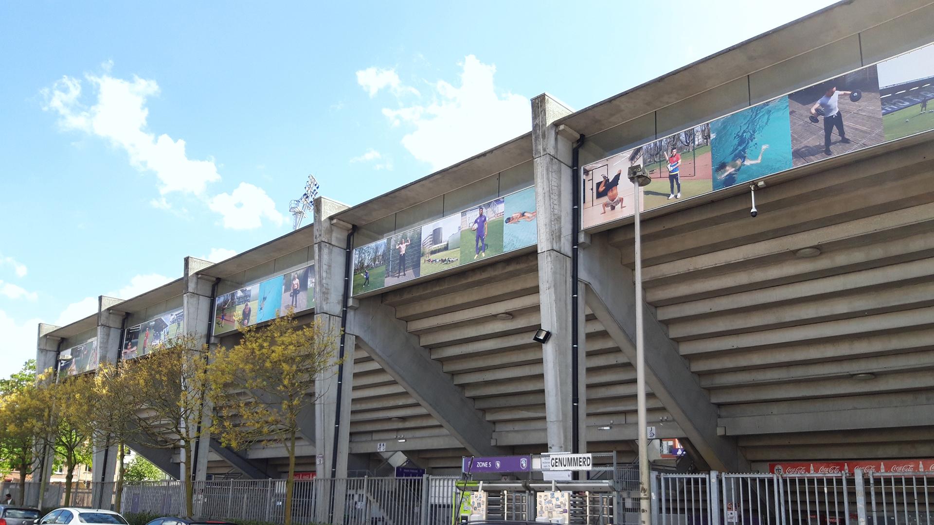 Banners Beerschot stadium