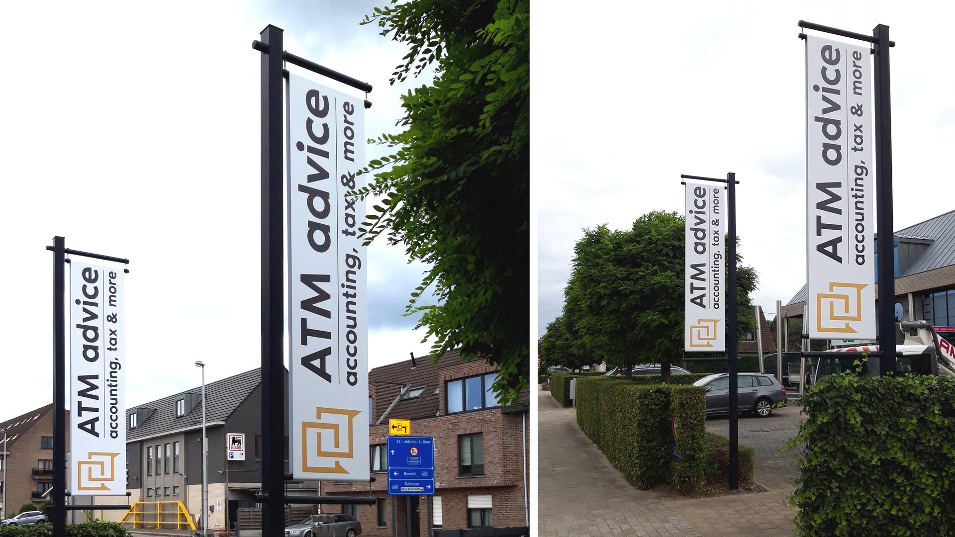 Baniervlaggen Antwerpen