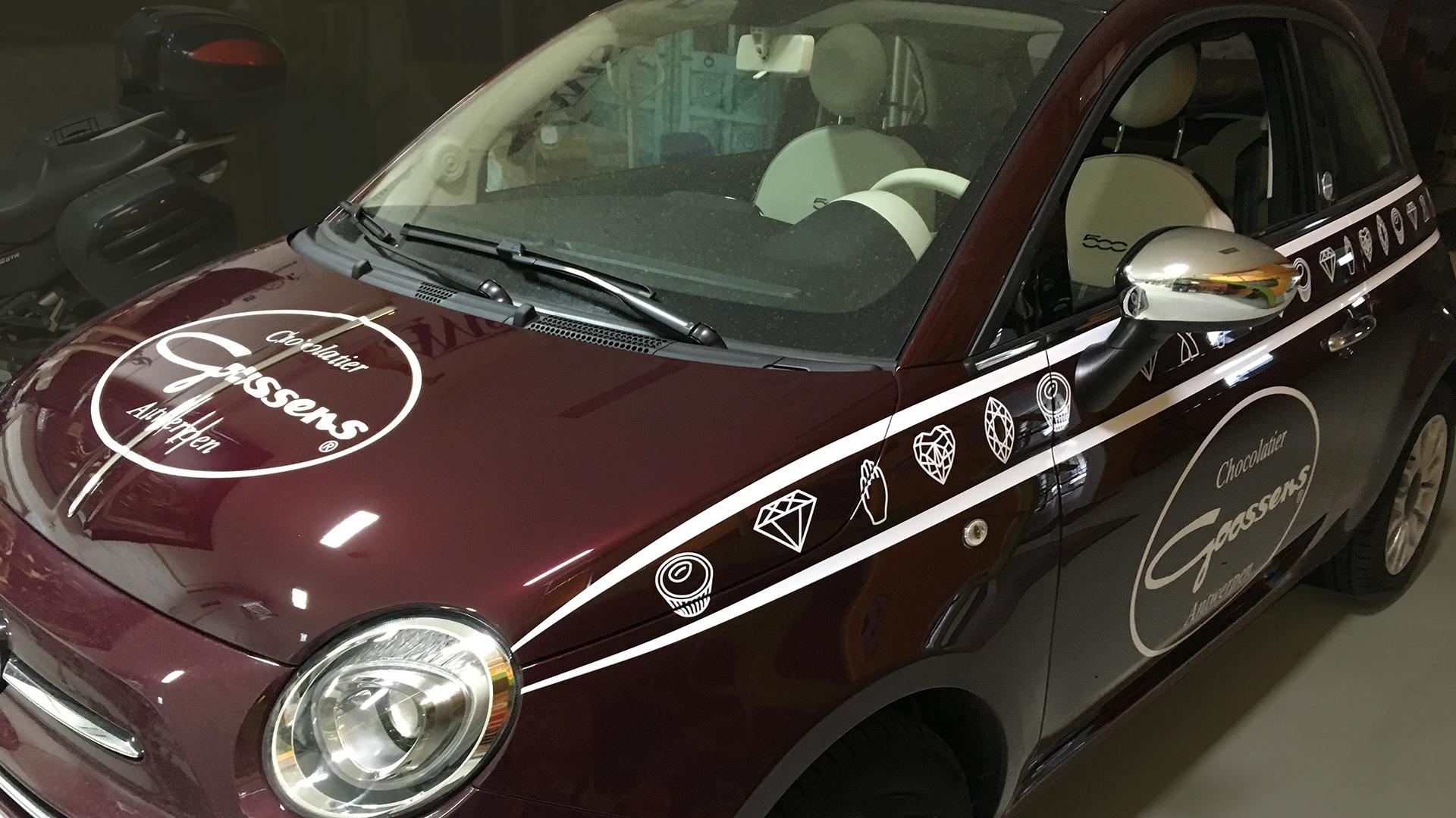 Fiat500 Belettering
