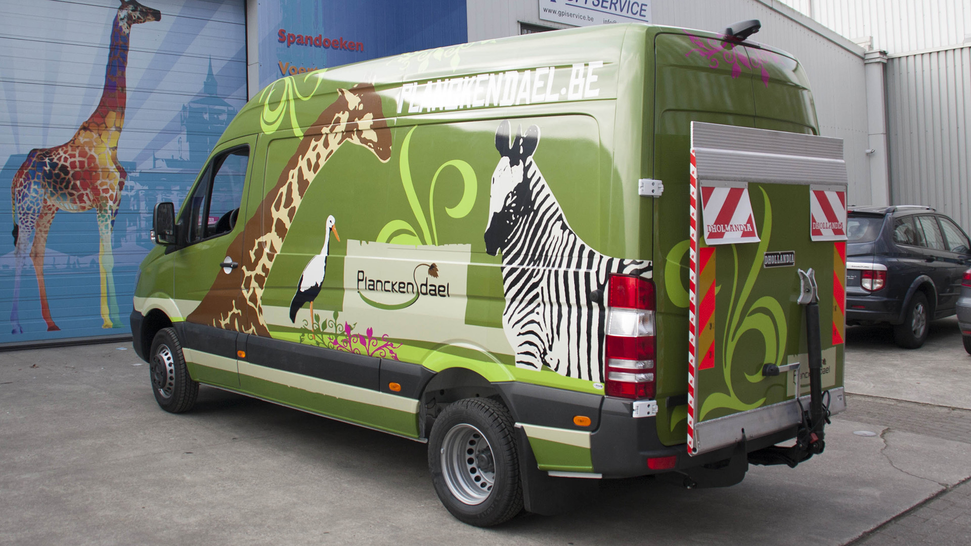 Zoo wrapping wrappen reclame
