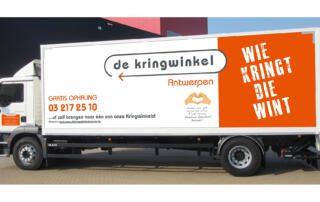 Belettering vrachtwagen