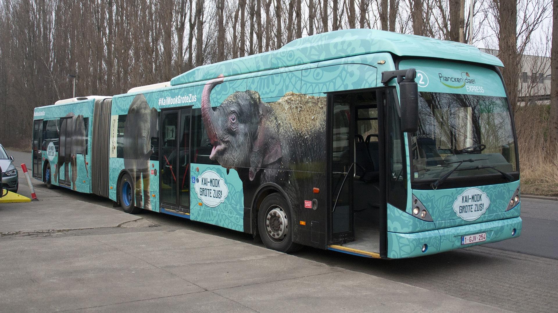 bestickering lijnbus