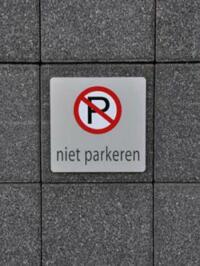 Parkeerbord Basic