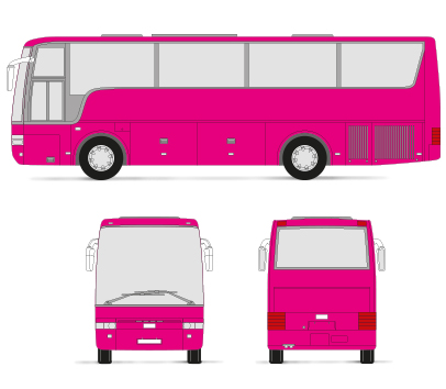 Bus Colour Wrap
