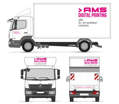 Vrachtwagen Belettering reclame