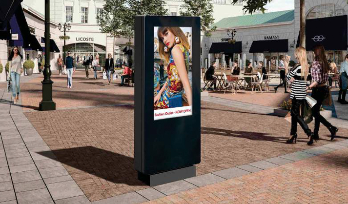 Digital signage Outdoor Freestanding Digital Posters