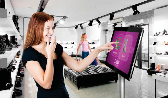 Digital signage PCAP Touch Screens with Dual OS1