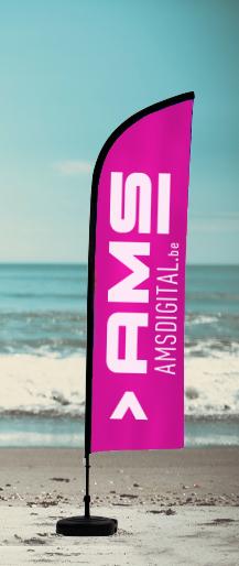 Beachflag Milano330