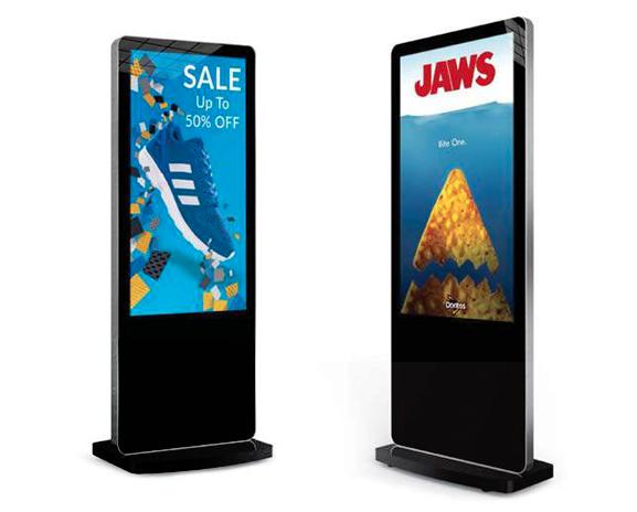DigitalSignage Freestanding Digital Posters