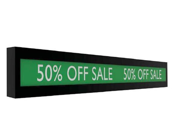 Digital Signage LCD Shelf Edge Displays
