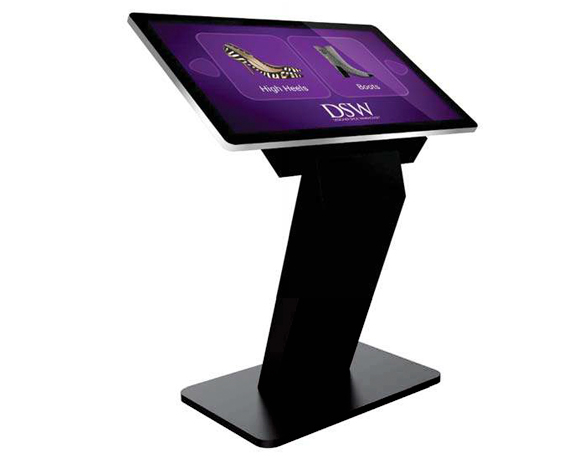 Digital Signage PCAP Touch Screen Kiosks with Dual OS