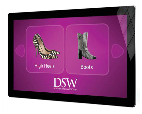 Digita Signage PCAP Touch Screens with Dual OS