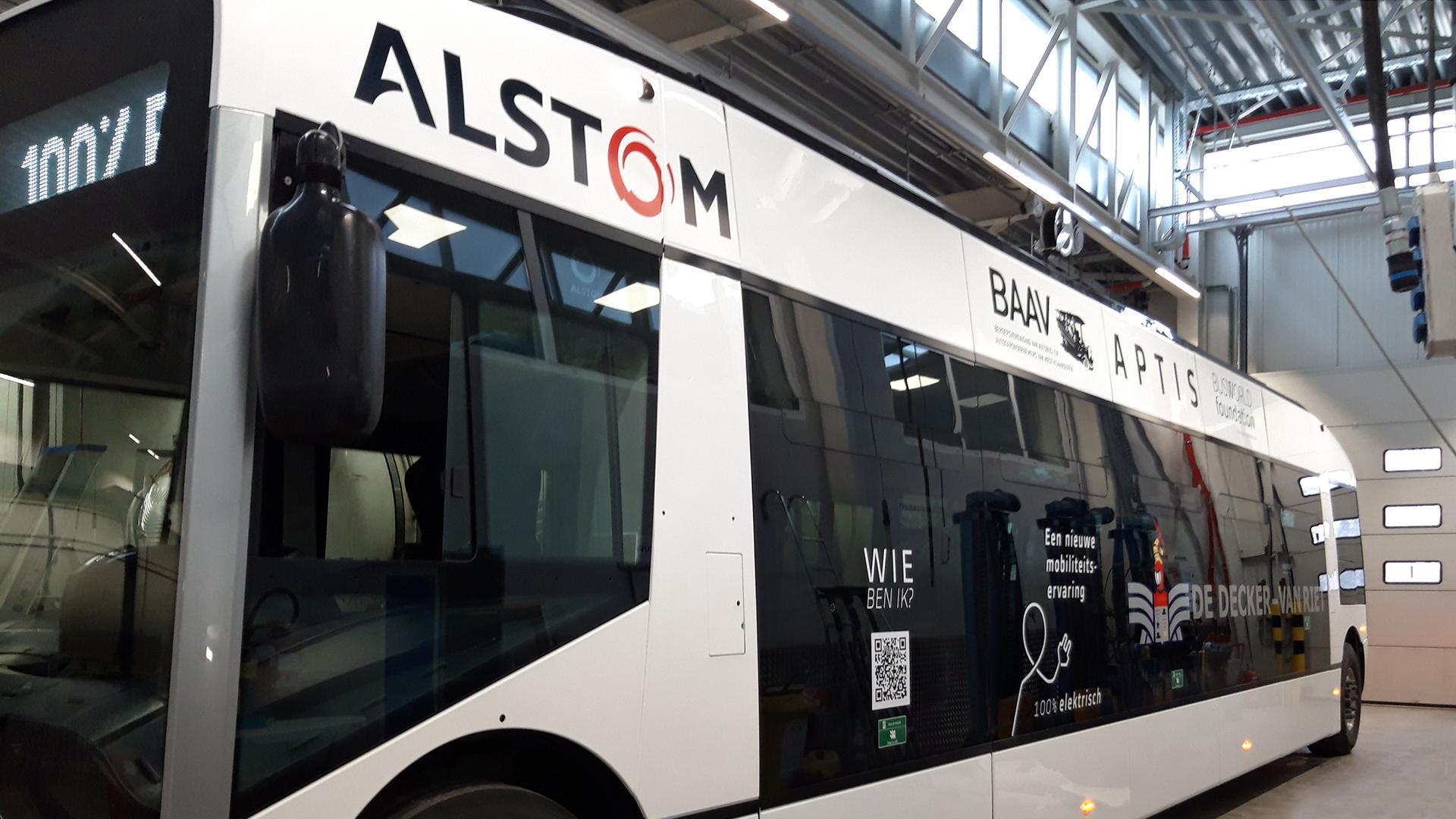 autobus reclame