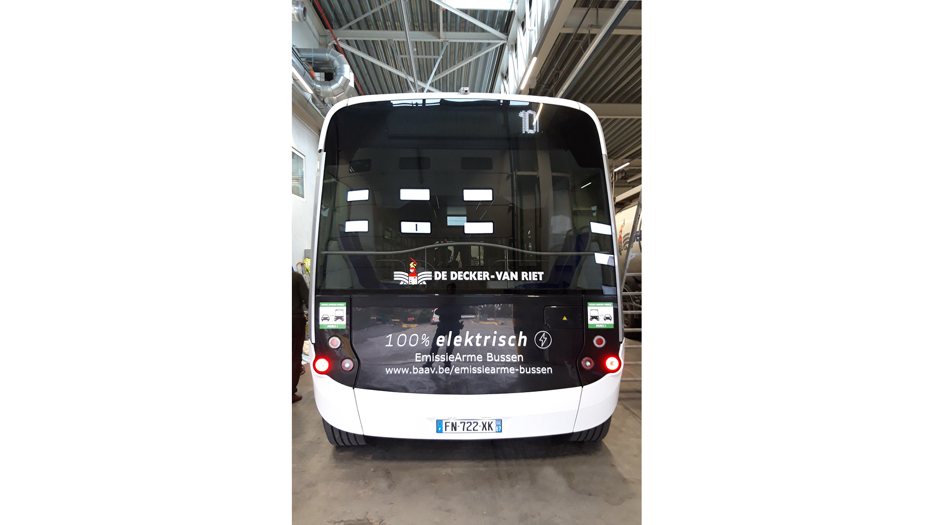 autobus belettering