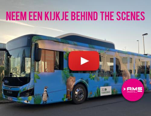 wrapping lijnbus dierenpark Planckendael